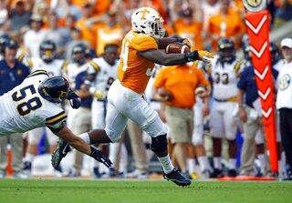 Tennessee Seeking Takeaways Football