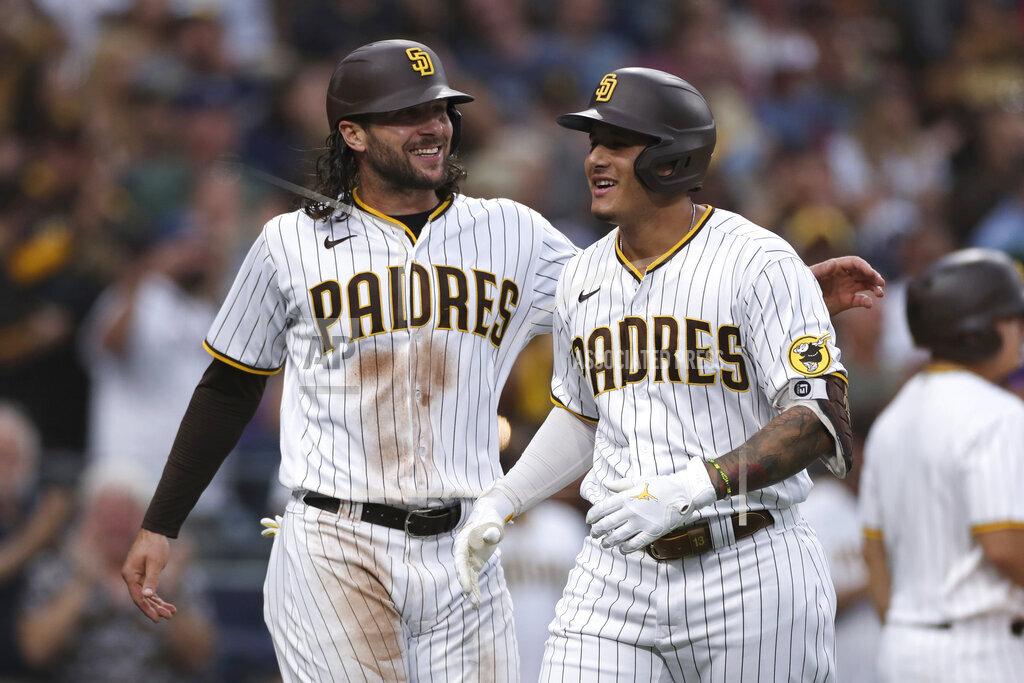 APTOPIX Braves Padres Baseball
