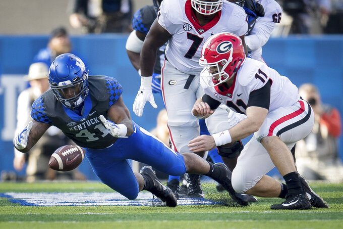 No. 20 Kentucky hosts MTSU, looking to end two-game slide