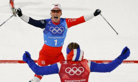 APTOPIX Pyeongchang Olympics Cross Country Women
