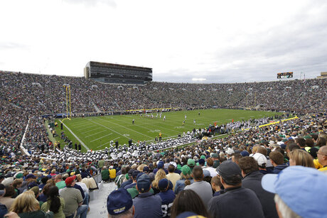 Notre Dame Violations Football
