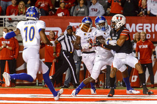 San Jose St Utah Football