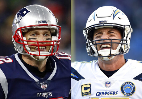 Patriots Chargers Football