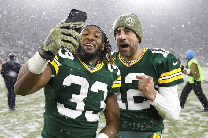 Aaron Jones, not Rodgers, proving to be Packers' MVP