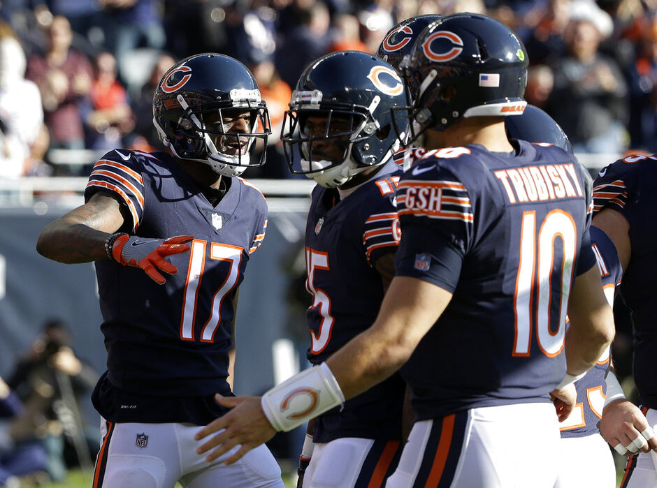 Dontrelle Inman, Mitchell Trubisky