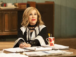 This image released by Pop TV shows Catherine O'Hara in a scene from