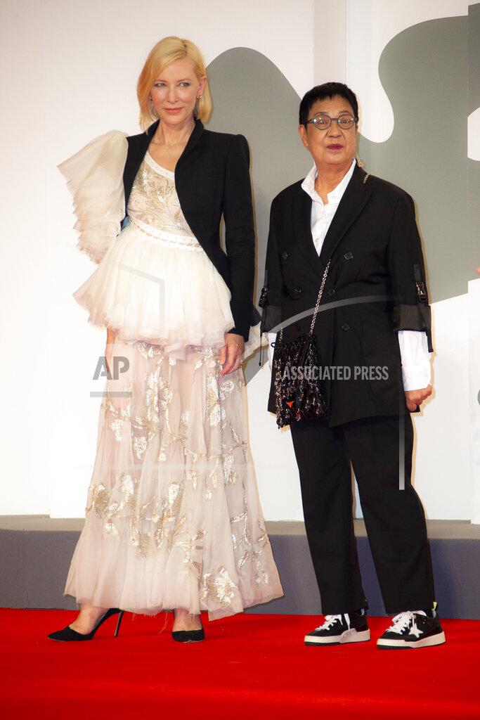Italy Venice Film Festival 2020 Ann Hui Lifetime Achievement Red Carpet