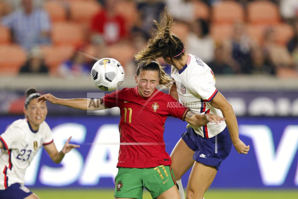 SOCCER: JUN 10 Women's - USA v Portugal