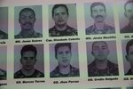 In this Feb. 6, 2019 photo, portraits of soldiers who attacked the presidential palace in a failed 1992 military coup organized by the late Hugo Chavez, are displayed during Diosdado Cabello's weekly, live TV program coined: