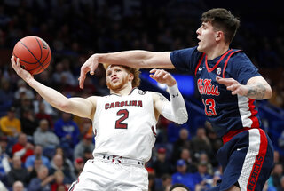 APTOPIX SEC Mississippi S Carolina Basketball