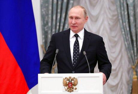 Russia Putin Paralympics