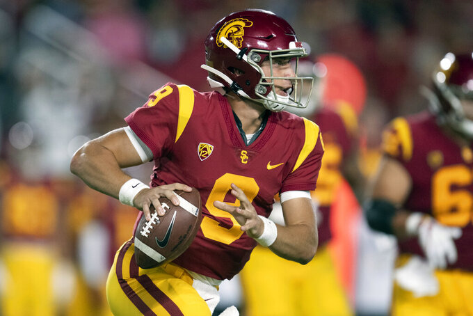 Fast track: USC's Slovis surprised but eager to start at QB