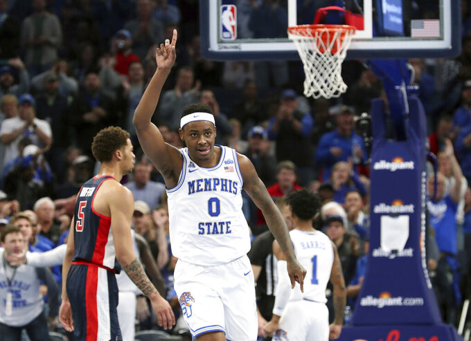 Achiuwa scores 25, No. 16 Memphis holds off Ole Miss 87-86
