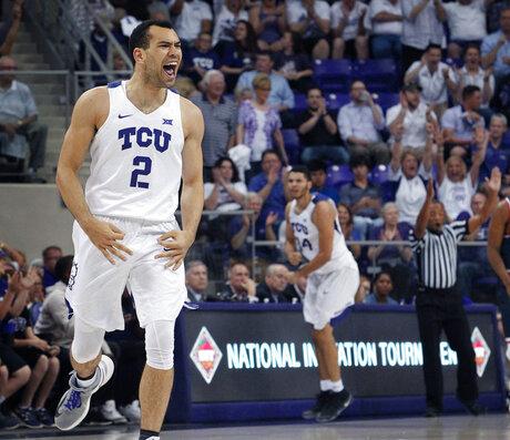 NIT Richmond TCU Basketball