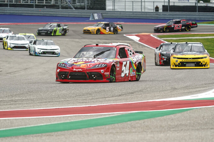 Kyle Busch dominates in snagging Xfinity race win in Austin