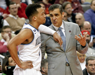 Jalen Brunson, Jay Wright