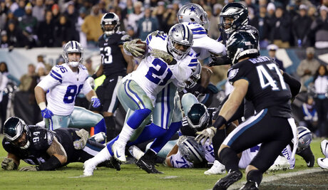 Cowboys-Elliott's Penance Football