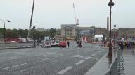 Cycling TDF Barricades