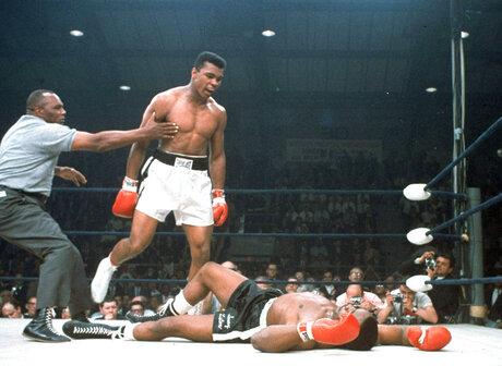 Muhammad Ali, Sony Liston