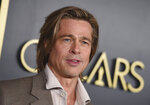 Brad Pitt arrives at the 92nd Academy Awards Nominees Luncheon at the Loews Hotel on Monday, Jan. 27, 2020, in Los Angeles. (Photo by Jordan Strauss/Invision/AP)