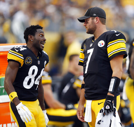 Ben Roethlisberger, Antonio Brown