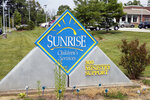 A sign for Sunrise Children's Services sits in front of the agency's Mount Washington, Ky., location on May 26, 2021. A cultural clash pitting religious beliefs against gay rights has jeopardized Kentucky's long-running relationship with a foster care and adoption agency affiliated with the Baptist church, Sunrise Children's Services, which serves some of the state's most vulnerable children. (Brandon Porter/Kentucky Today via AP)