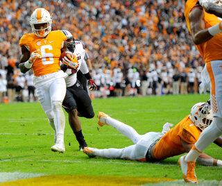 South Carolina Tennessee Football