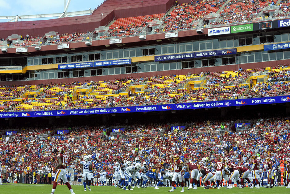 Redskins-Home-Field Disadvantage Football
