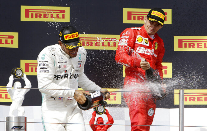Hamilton sympathy for fans as French GP win looks too easy