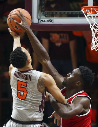 NC State Virginia Tech Basketball