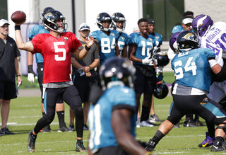 Jaguars Vikings Football