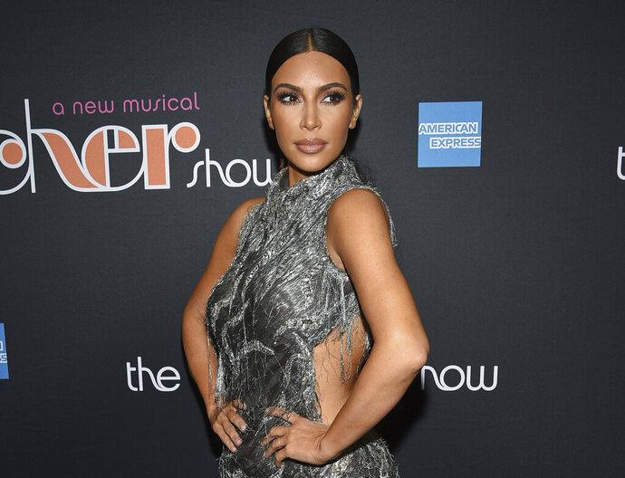 FILE - This Dec. 3, 2018 file photo shows Kim Kardashian West at