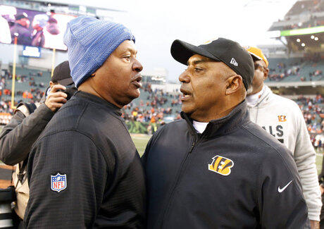 Jim Caldwell, Marvin Lewis