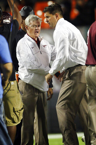 Frank Beamer, Al Golden