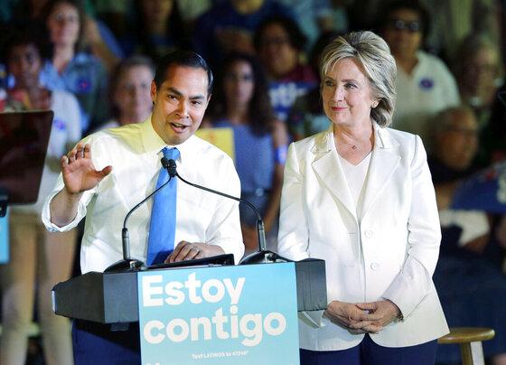 Hillary Rodham Clinton, Julian Castro