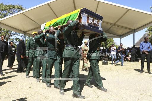 APTOPIX Zimbabwe Mugabe Burial