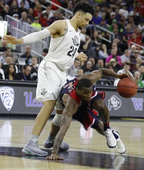 P12 Arizona Oregon Basketball