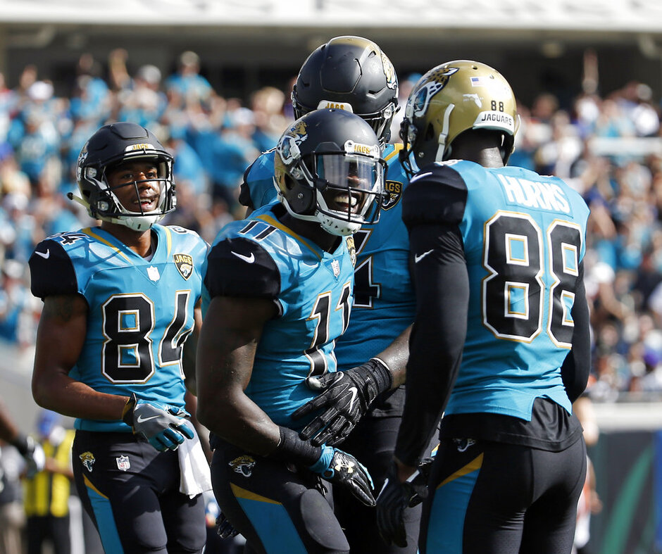 Marqise Lee, Keelan Cole, Allen Hurns