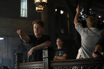 This image released by Fox shows actor-director Ben McKenzie directing the