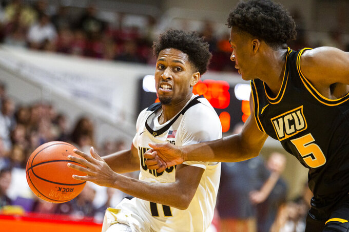 Purdue upsets No. 20 VCU, 59-56, in Emerald Coast Classic