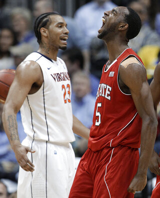 ACC NC State Virginia Basketball