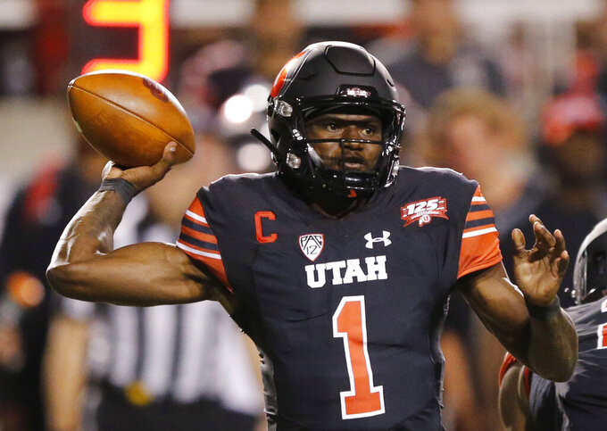 Utah expected to lead Pac-12 behind play of Huntley, Moss