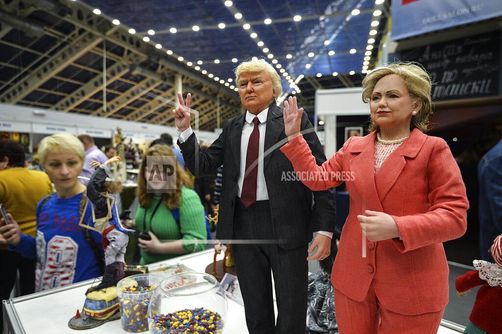 SPTNK Sputnik via AP I   Russia 2952893 12th International Doll Salon in Moscow