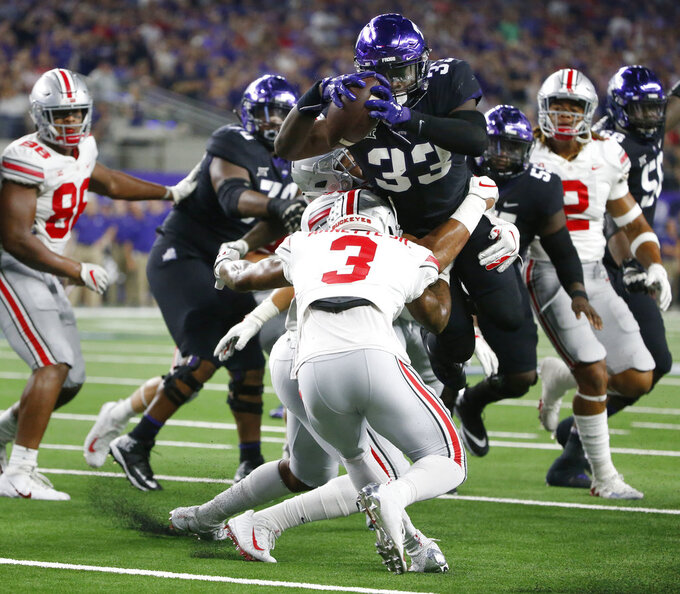 Ohio State at TCU 9/15/2018