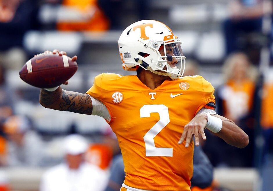 Tennessee QB Competition Football