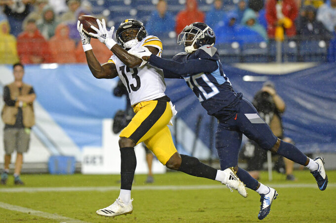 Big Ben makes preseason debut, Steelers beat Titans 18-6