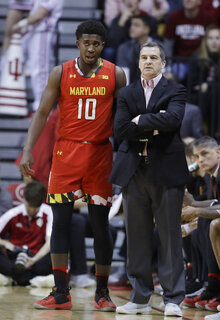 Maryland Indiana Basketball