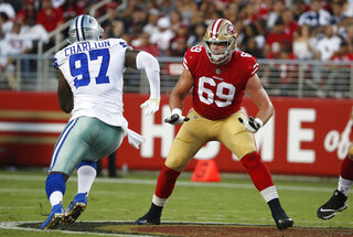 49ers-McGlinchey Football