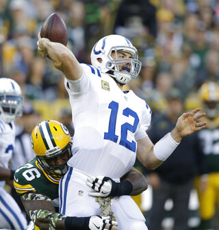 Colts Packers Football