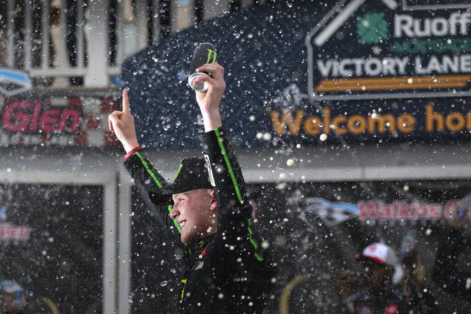 Ty Gibbs wins Xfinity race at Watkins Glen